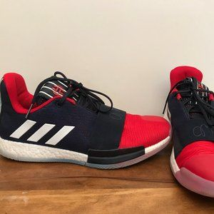 Mens Adidas Harden Vol.3 Basketball Shoes